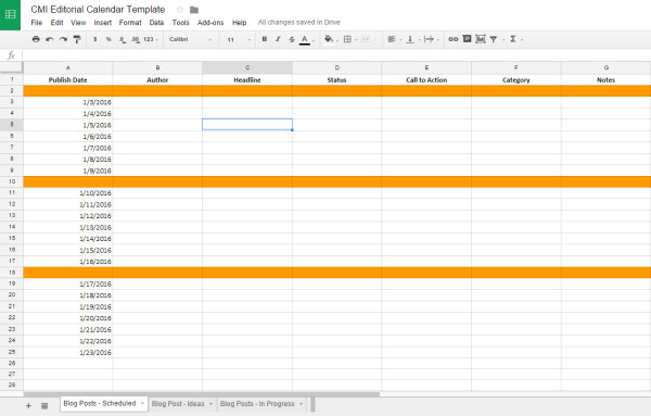 2016 Content Marketing Toolkit 23 Checklists, Templates, and Guides - creating checklist