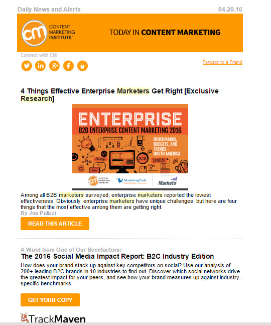 cmi-newsletter-example-research