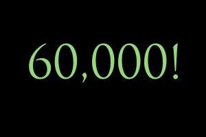 60,000 quality traffic