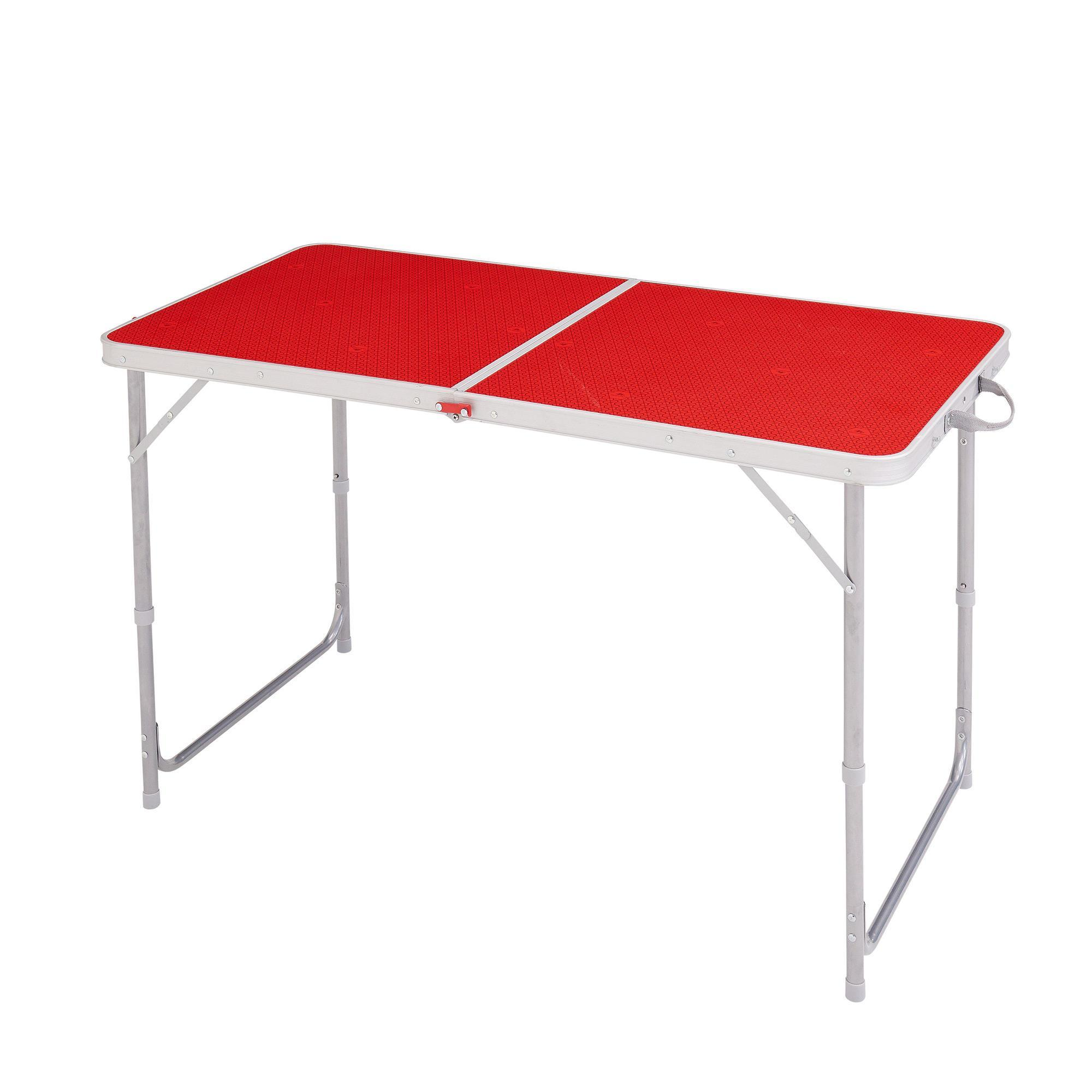 Table Valise + 4 Tabourets Tables Et Armoires De Camping Decathlon