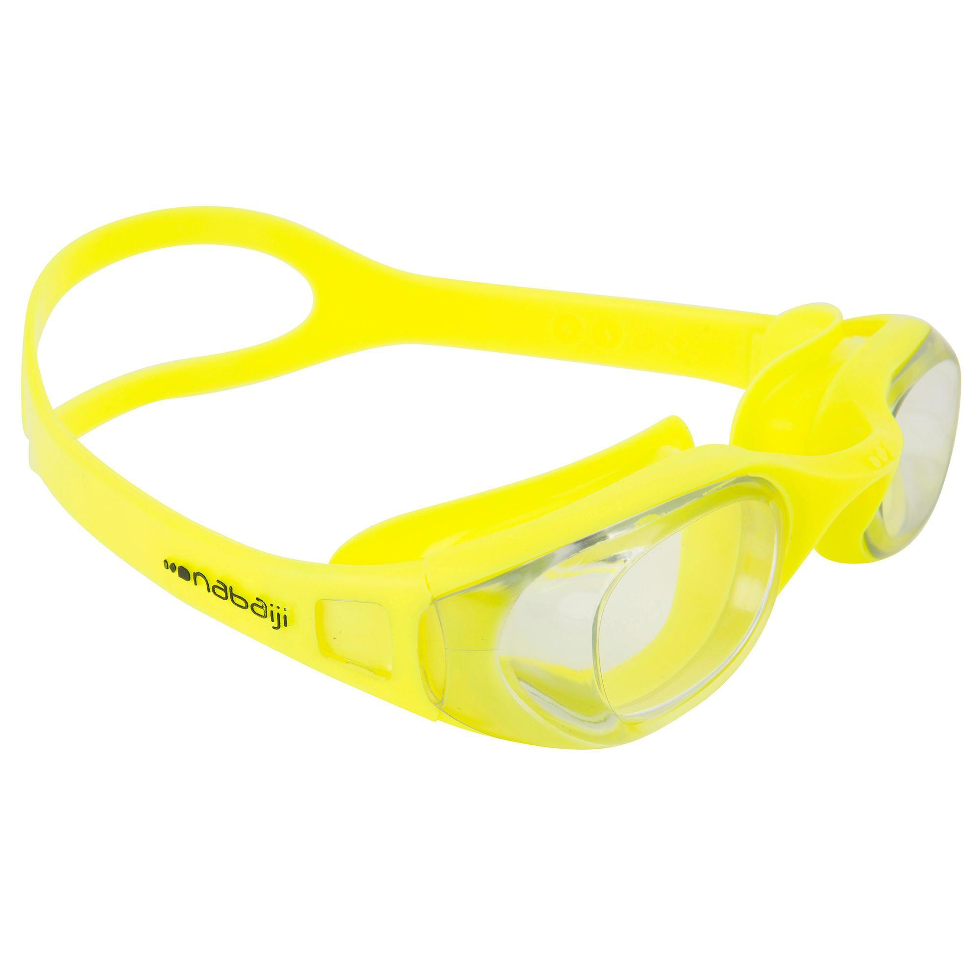 Decathlon Occhialini Piscina Xbase Easy Swimming Goggles Yellow Nabaiji