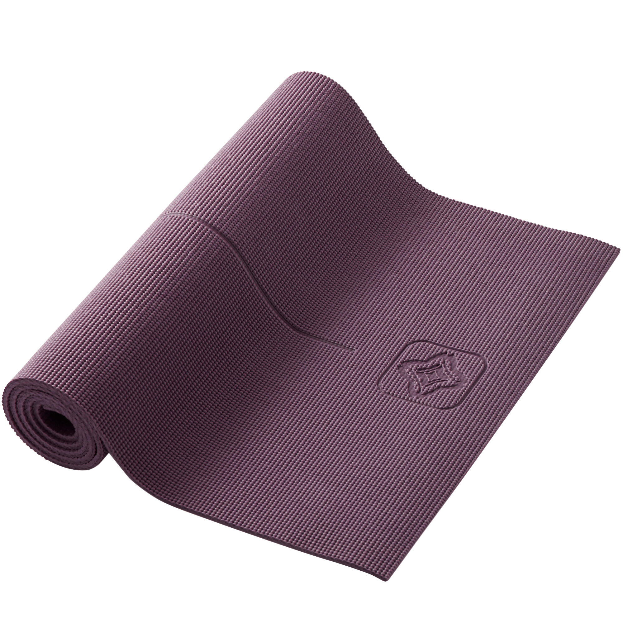 Tappetino Yoga Decatlon Accessori Tappetino Yoga Comfort 8mm Bordeaux