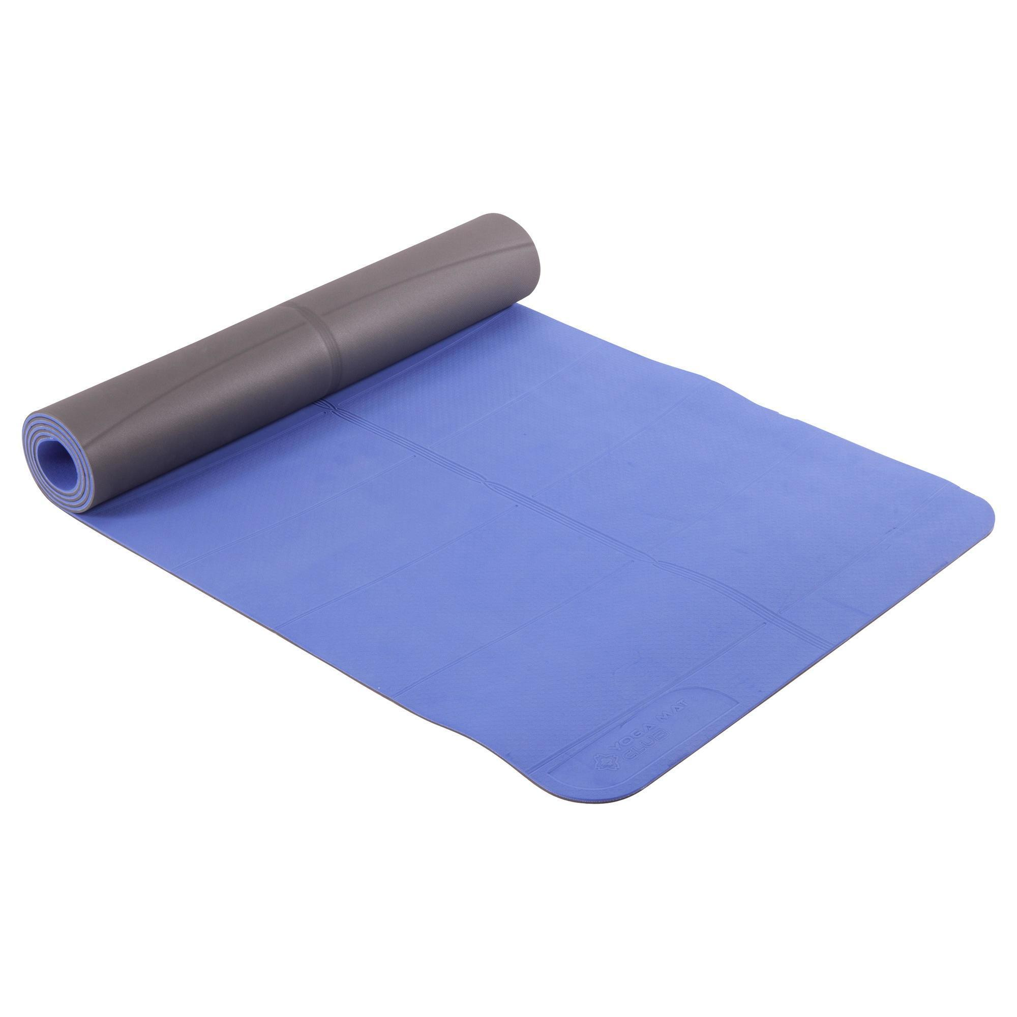 Tappetino Yoga Decatlon Accessori Tappetino Yoga 5mm Azzurro