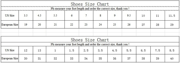 Wish Euro Size 27-43 Children Heelys Ultralight Kid Led Shoes