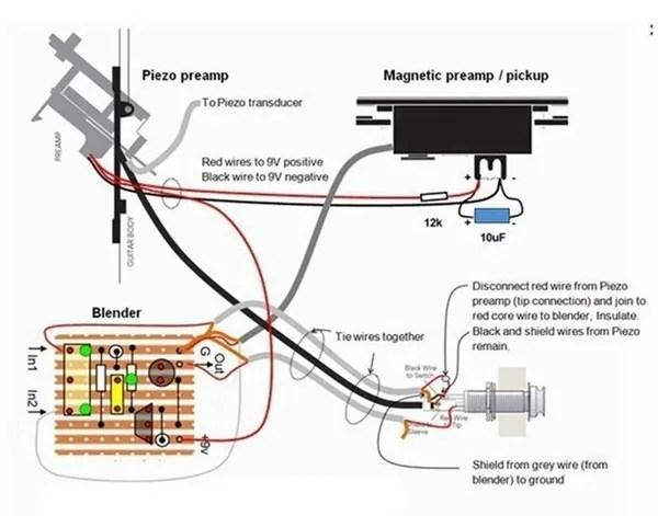 Fishman Pickups Wiring Diagrams Wiring Schematic Diagram