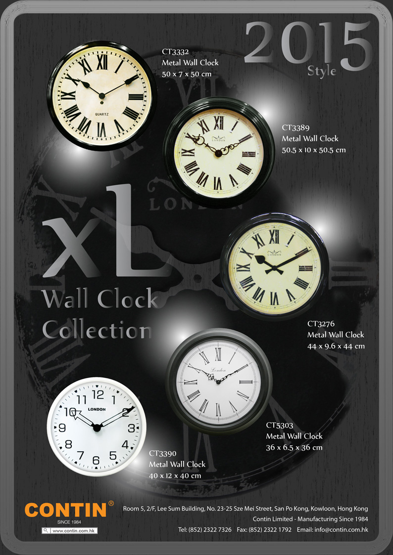 Special Clock Contin Product Catalogue