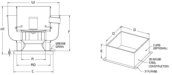 hvac drawing dwg