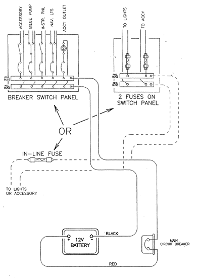 boat electrical diagrams