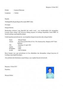 Application Letter Pengertian Example Good Resume Template