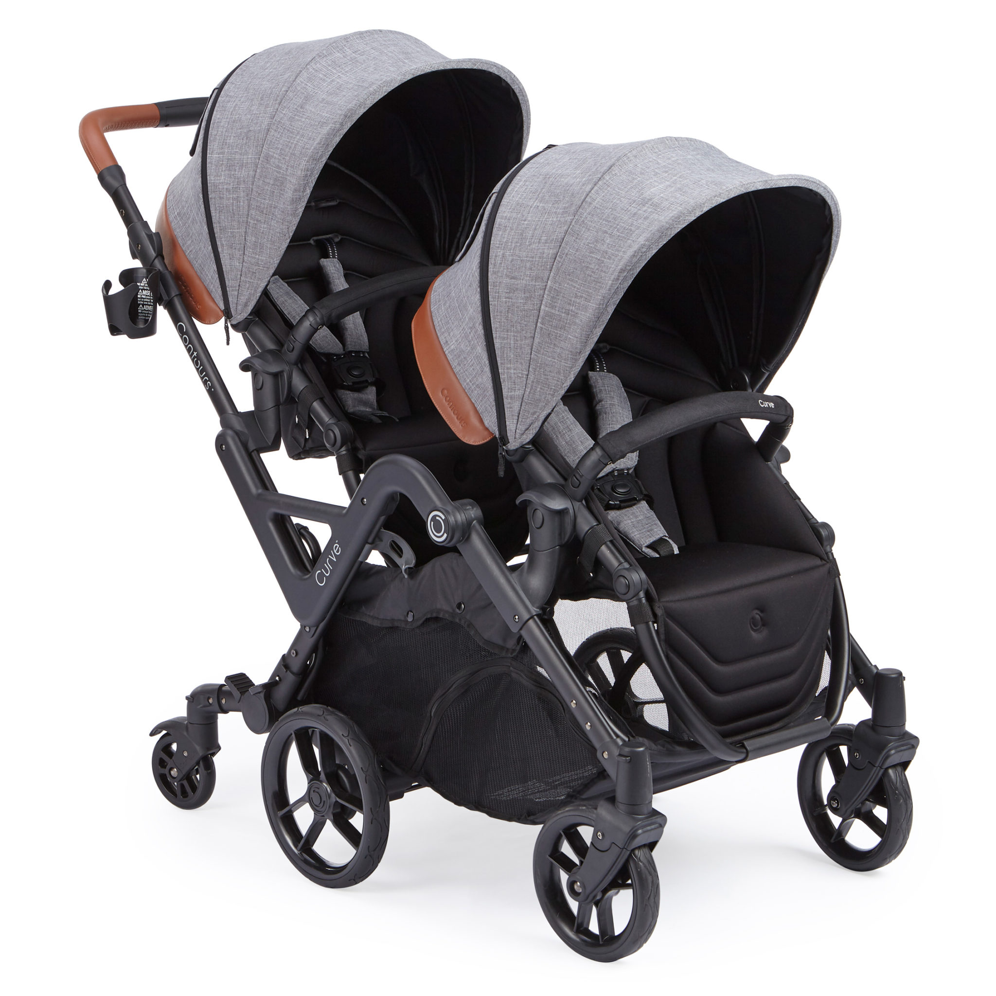 Baby Pram Designer Double Stroller Baby Carrier Compact Stroller Contours