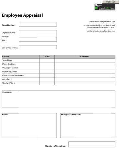 Basic Employee Write Up Form – Employee Write Up Form