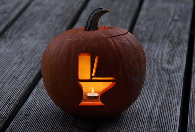 Free Pumpkin Carving Patterns for Plumbers