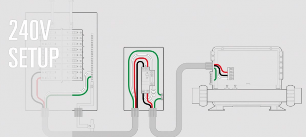 wiring diagram for hot tub junction box