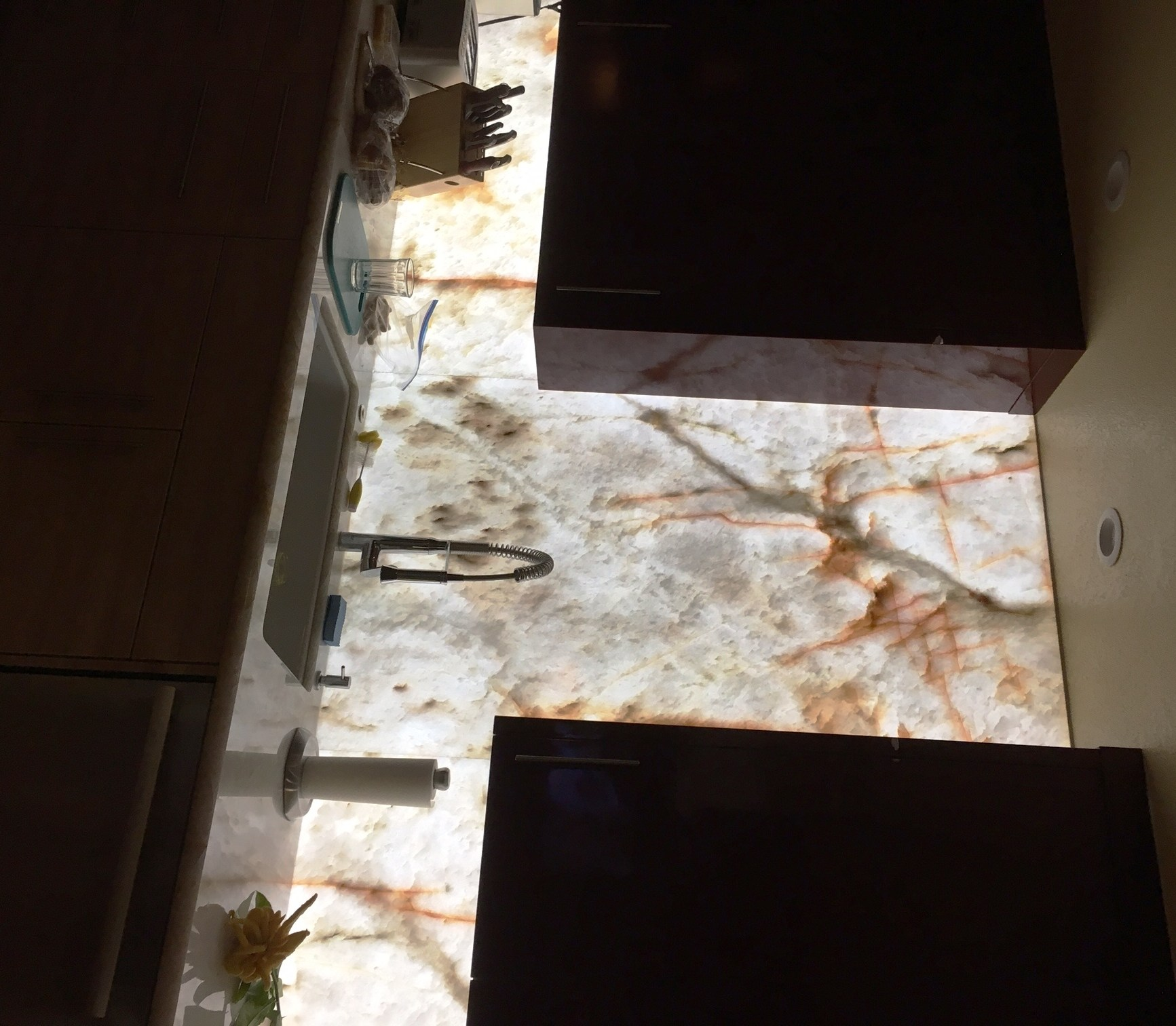 Backlit Onyx Countertops Page 4 Contractor Talk Professional Construction And Remodeling Forum