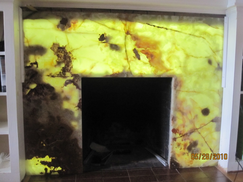 Backlit Onyx Countertops Contractor Talk Professional Construction And Remodeling Forum