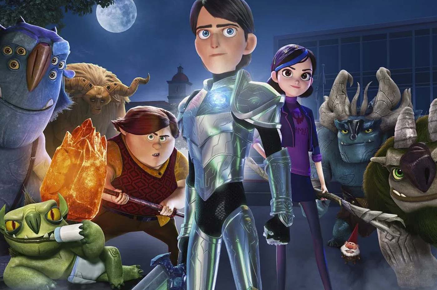 crítica Trollhunters Dibujos animados