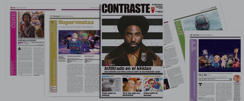 Contraste audiovisual revista noviembre