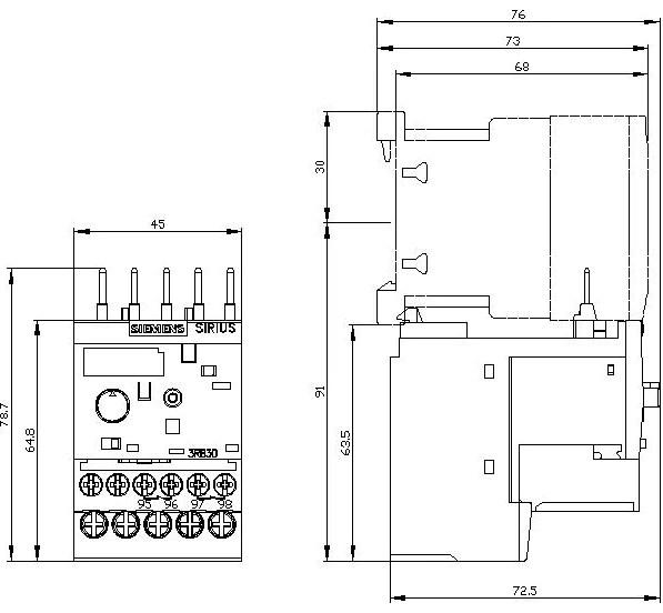 Electronic Overload Relay Wiring Diagram U General Purpose Relay
