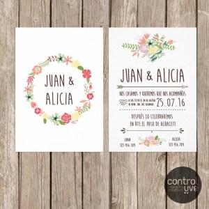 Invitacion_corona flores