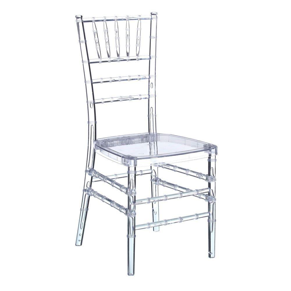 Alquiler de sillas para eventos y bodas convdeb for Sillas metacrilato transparente