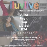 Live Music Open Mic Night 'Iluvlive' Returns – Monday, November 7 | Events