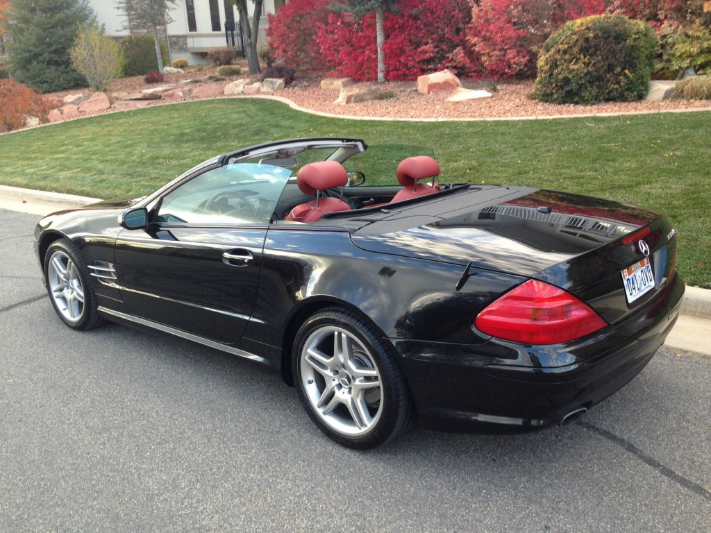 Safety Zone Car Seat 2006 Mercedes Benz Sl500 Base Convertible 2 Door 5 0l For Sale