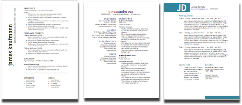 How to Upgrade Your Resume Design for 2017 Templates Included - how to make your own resume