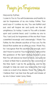 Prayerfor forgiveness phone download