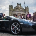 McClaren in front of the Town Hall