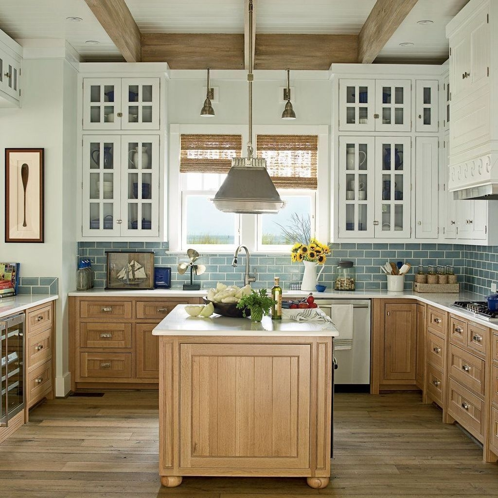 30 Splendid Coastal Nautical Kitchen Ideas For This Season Coodecor