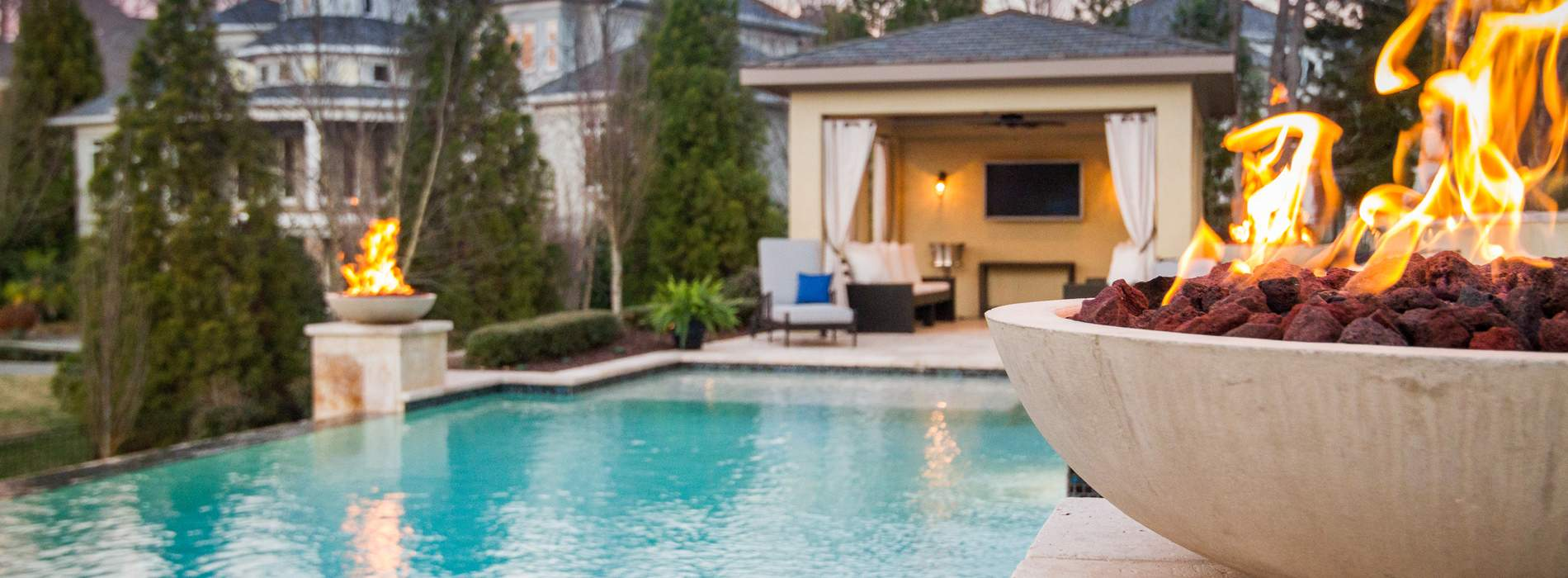 Landscape Design Inground Pools Construction Charlotte Nc