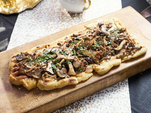 Grilled Mushroom Flatbread Recipe Tia Mowry Cooking Channel