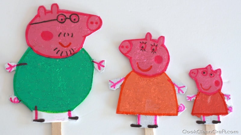 Peppa Pig Puppet Show craft - Hobbies  Crafts - Essential Baby
