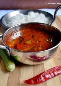 Goddu kuzhumbu recipe | how to make goddu kuzhambu