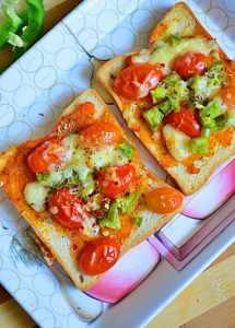 Bread pizza recipe| how to make bread pizza