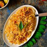 Tomato rice recipe | how to make tomato rice.