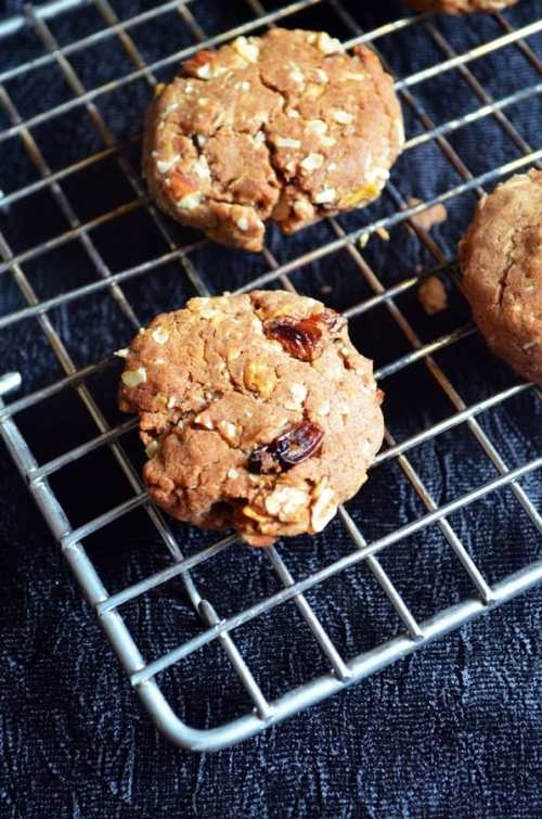 eggless breakfast cookies recipe 1