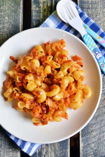 Mac n veggies n cheese recipe | Easy pasta recipes