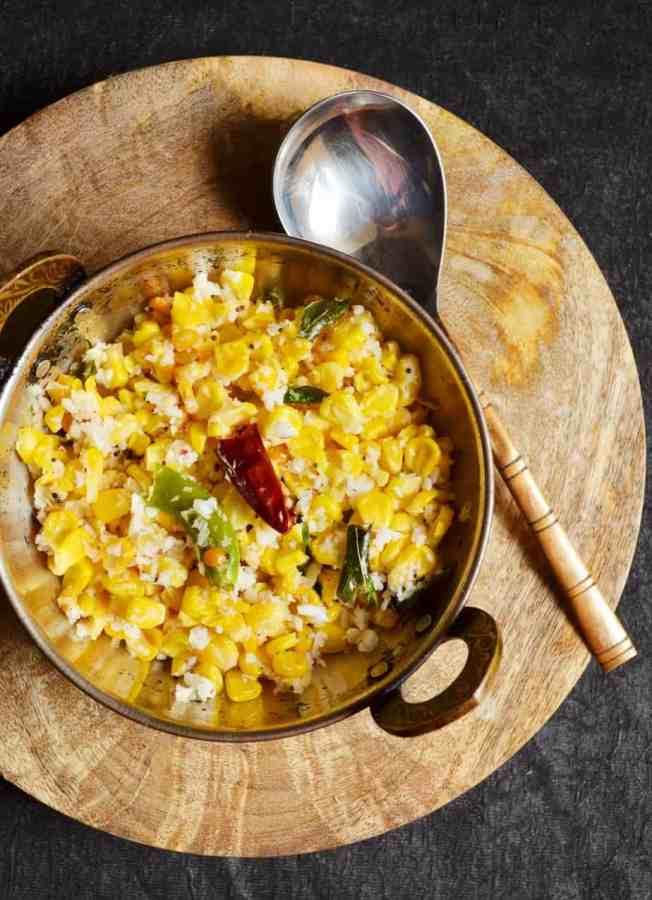 sweet corn sundal recipe 1
