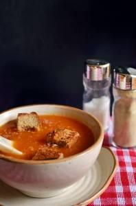 tomato soup step b