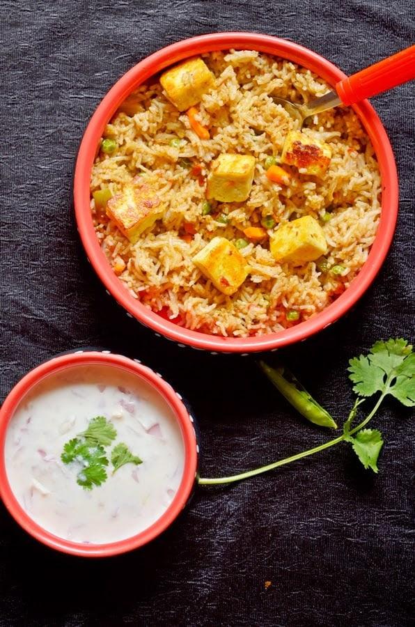 Paneer+rice+4