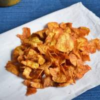 Sweet potato chips recipe | Sakkaravalli kizhangu chips recipe