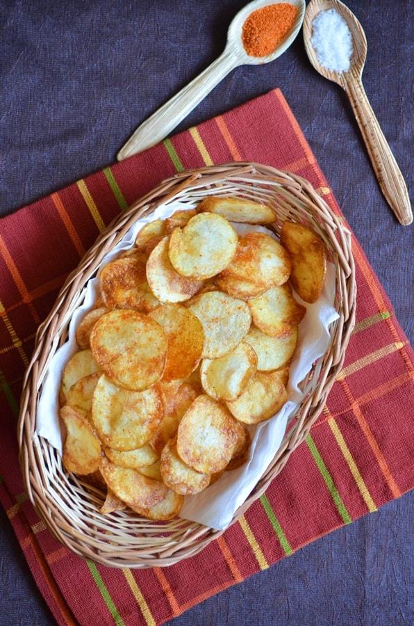 potato chips recipe