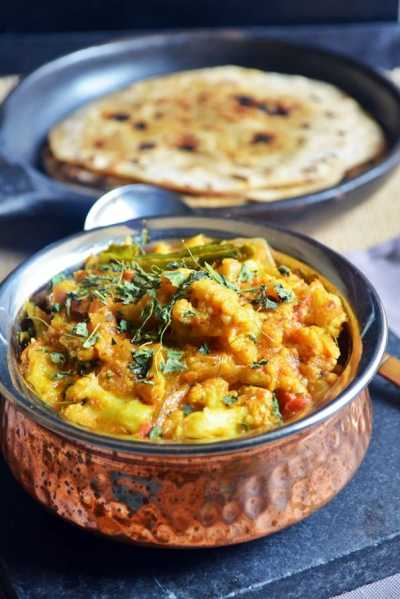 Cauliflower kurma recipe | No coconut cauliflower kuruma recipe