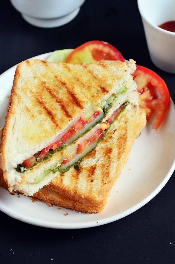 Bombay grilled sandwich recipe-d
