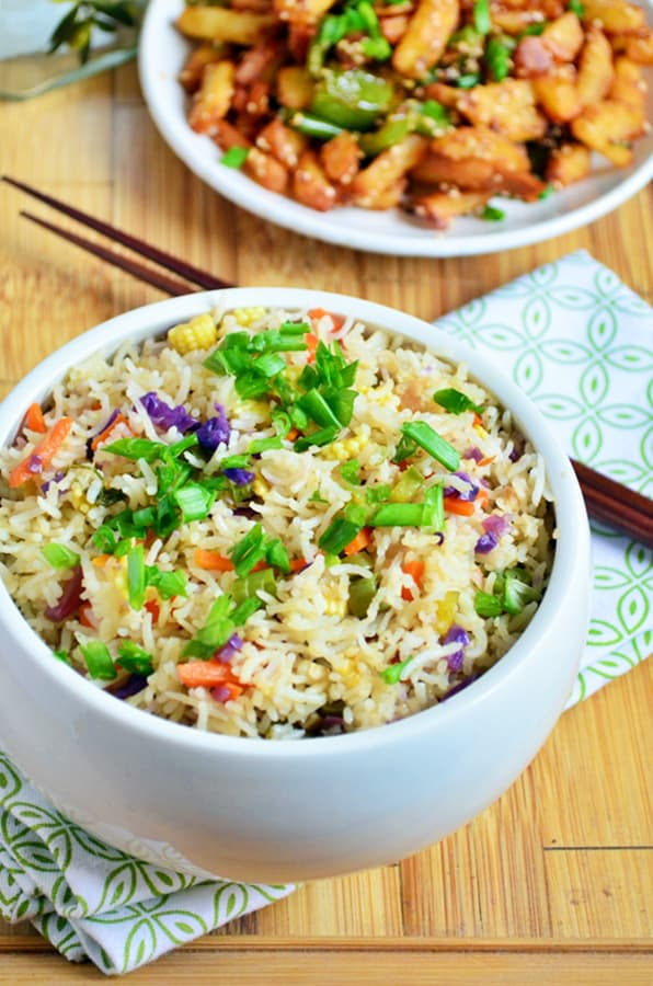 Restuarant style veg fried rice recipe
