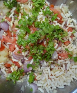 bhel puri step2