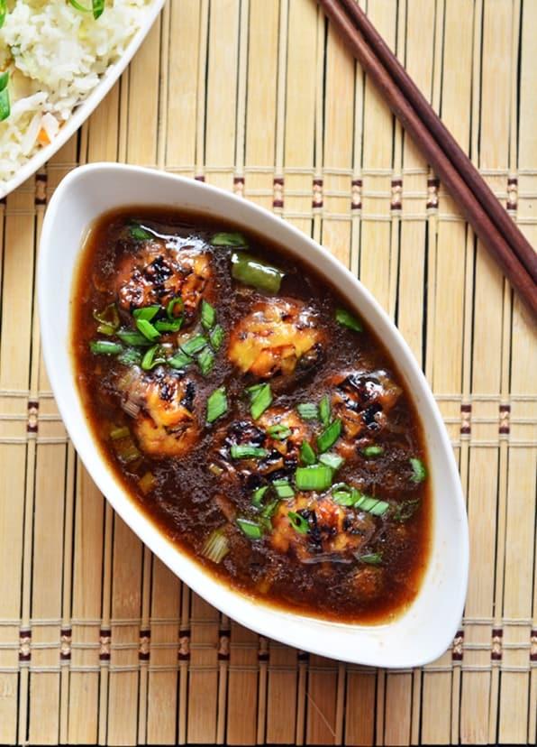 veg manchurian gravy recipe3