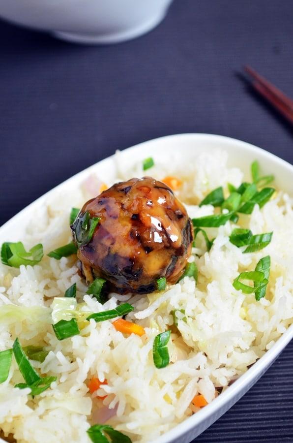 veg manchurian gravy recipea