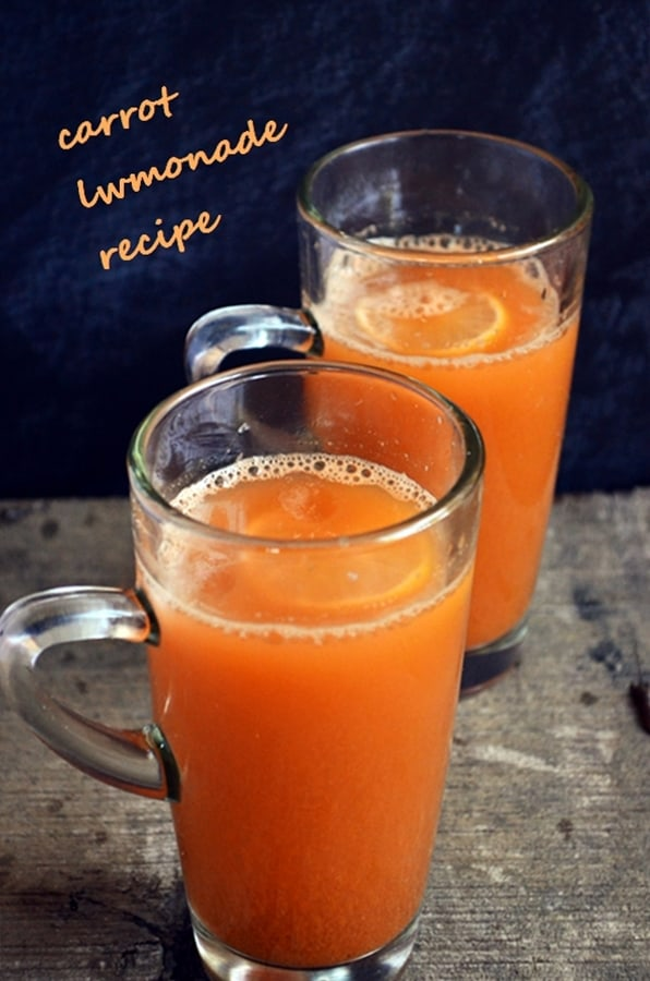 carrot lemonade recipe
